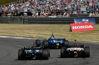 Graham Rahal, Rahal Letterman Lanigan Racing Honda, Patricio O'Ward, Carlin Chevrolet