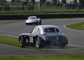 Tony Gaze Trophy, Richard Woolmer Austin Healey 100 Coupe