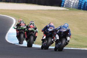 Jonathan Rea, Kawasaki Racing, Halam, Michael van der Mark, Pata Yamaha, Marco Melandri, GRT Yamaha WorldSBK