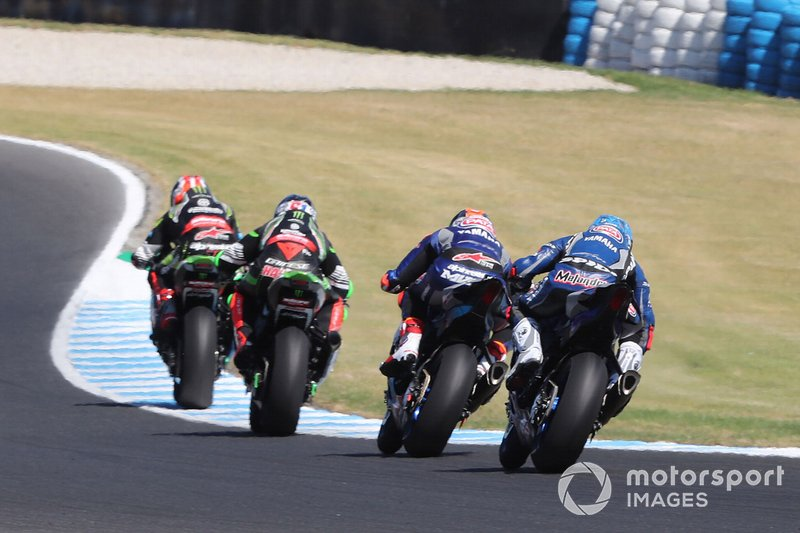 Джонатан Рей, Леон Хеслем, Kawasaki Racing, Міхаел ван дер Марк, Pata Yamaha, Марко Меландрі, GRT Yamaha WorldSBK