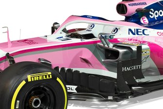 Racing Point livery detail