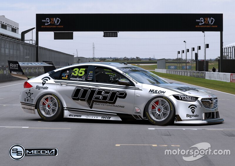 Matt Stone Racing livery unveil