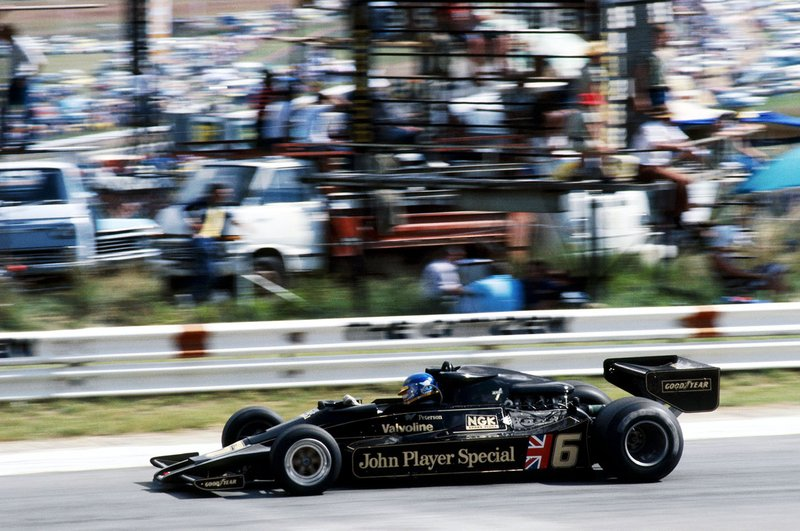 Ganador: Ronnie Peterson, Lotus 78