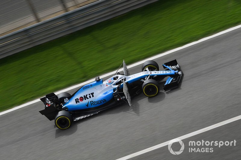 Nicholas Latifi, Williams Racing FW42