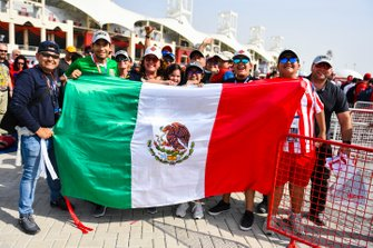 Fans of Sergio Perez, Racing Point