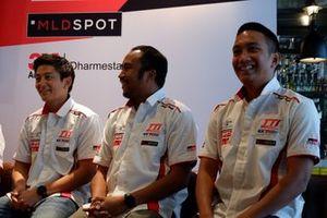 Rio Haryanto, Haridarma Manoppo dan Demas Agil, Toyota Team Indonesia