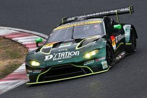 #7 D'station Aston Martin Vantage GT3: Satoshi Hoshino, Tsubasa Kondo