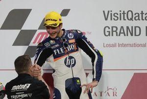 Podium : le vainqueur Lorenzo Baldassarri, Pons HP40