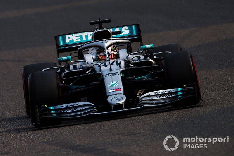 2. Льюис Хэмилтон, Mercedes AMG F1 W10, 1:31.570