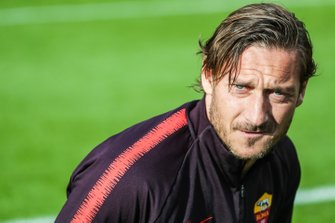 Roma player Francesco Totti