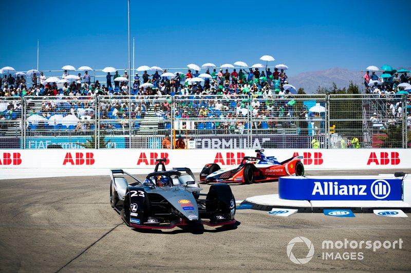 Sébastien Buemi, Nissan e.Dams, Nissan IMO1 Pascal Wehrlein, Mahindra Racing, M5 Electro