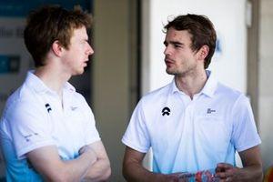 Tom Dillmann, NIO Formula E Team ve Oliver Turvey, NIO Formula E Team