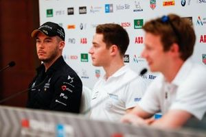Andre Lotterer, DS TECHEETAH, Stoffel Vandoorne, HWA Racelab, Oliver Turvey, NIO Formula E Team, in the press conference
