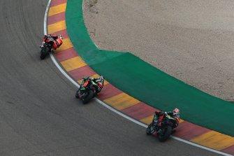 Chaz Davies, Aruba.it Racing-Ducati Team, Leon Haslam, Kawasaki Racing, Jonathan Rea, Kawasaki Racing