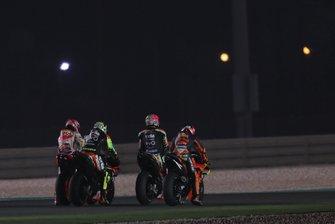 Marc Marquez, Repsol Honda Team, Andrea Iannone, Aprilia Racing Team Gresini, Aleix Espargaro, Aprilia Racing Team Gresini, Pol Espargaro, Red Bull KTM Factory Racing