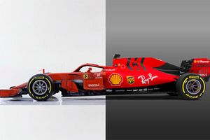 Ferrari SF71H vs. Ferrari SF90