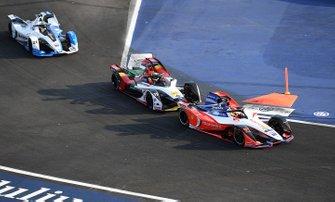 Pascal Wehrlein, Mahindra Racing, M5 Electro Lucas Di Grassi, Audi Sport ABT Schaeffler, Audi e-tron FE05, Antonio Felix da Costa, BMW I Andretti Motorsports, BMW iFE.18
