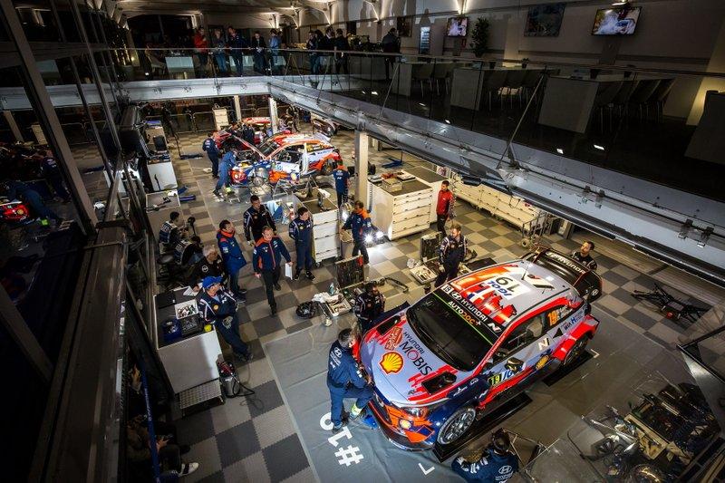 Hyundai Motorsport team