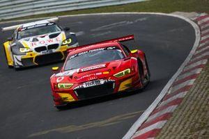 #9 Phoenix Racing Audi R8 LMS: Steve Jans, Kim-Luis Schramm