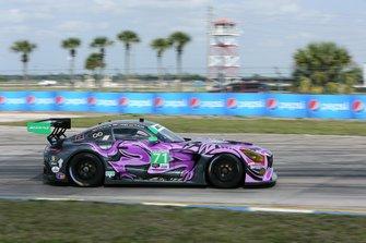 #71 P1 Motorsports Mercedes-AMG GT3: Maximilian Buhk, Fabian Schiller, JC Perez