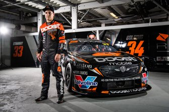 James Golding, Garry Rogers Motorsport unveil