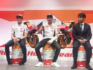 Marc Marquez, Jorge Lorenzo, Tetsuhiro Kuwata