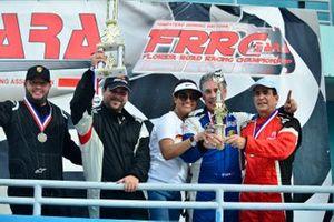Lino Fayen, Angel Benitez Jr., Paulo Lima, and Pedro Redondo Sr.