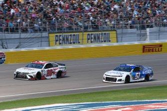 Erik Jones, Joe Gibbs Racing, Toyota Camry SportClips, Cody Ware, Petty Ware Racing, Chevrolet Camaro Jacob Companies