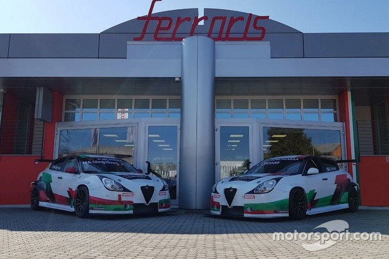 Alfa Romeo Giulietta Veloce TCR, Romeo Ferraris, Team Mulsanne