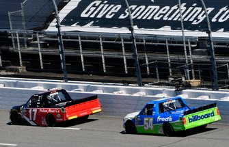 Tyler Ankrum, DGR-Crosley, Toyota Tundra May's Hawaii and David Gilliland, DGR-Crosley, Toyota Tundra Fred's