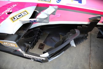 Racing Point bargeboard