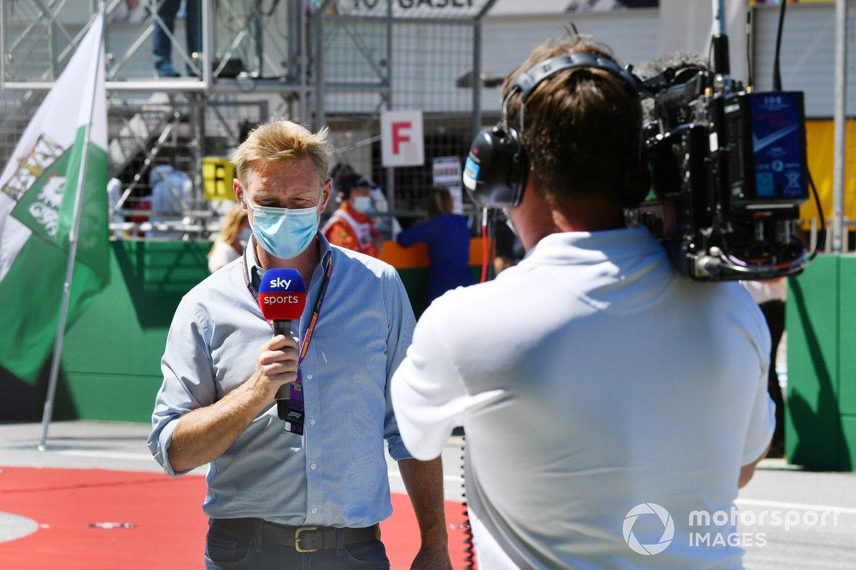 Simon Lazenby, Sky TV, on the grid