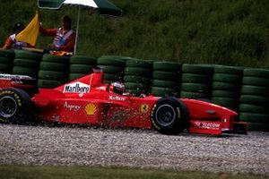 Ausritt: Michael Schumacher, Ferrari F300
