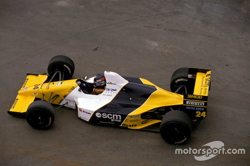 #24: Paolo Barilla (Minardi)