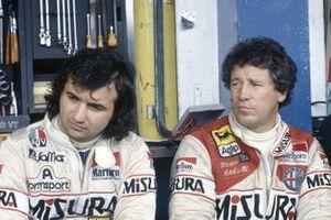 Bruno Giacomelli, Alfa Romeo 179C, Mario Andretti, Alfa Romeo 179C