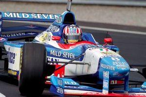 Alexander Wurz, Benetton B197 Renault