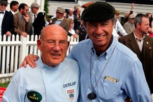 Sir Stirling Moss con Jo Ramírez