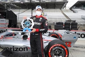 Pole Winner Will Power, Team Penske Chevrolet