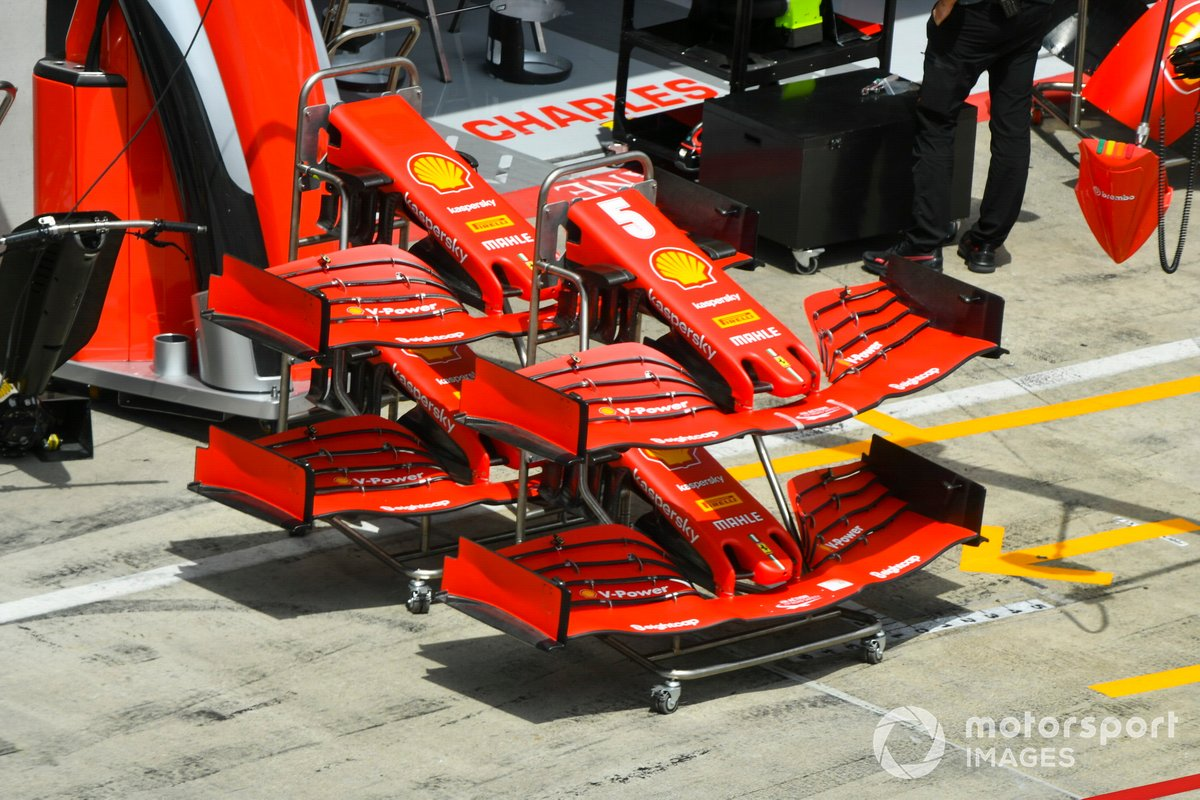 Front wing of Ferrari SF1000