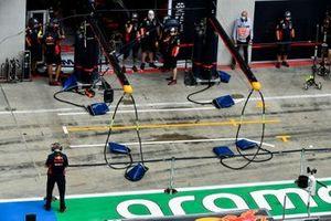 Red Bull Racing Pit Lane