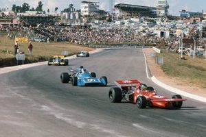 Ronnie Peterson, March 711 Ford, Chris Amon, Matra MS120, Graham Hill, Brabham BT33 Ford