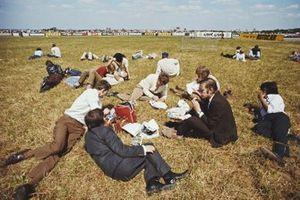 Gli spettatori all'ora di pranzo, GP di Gran Bretagna del 1971
