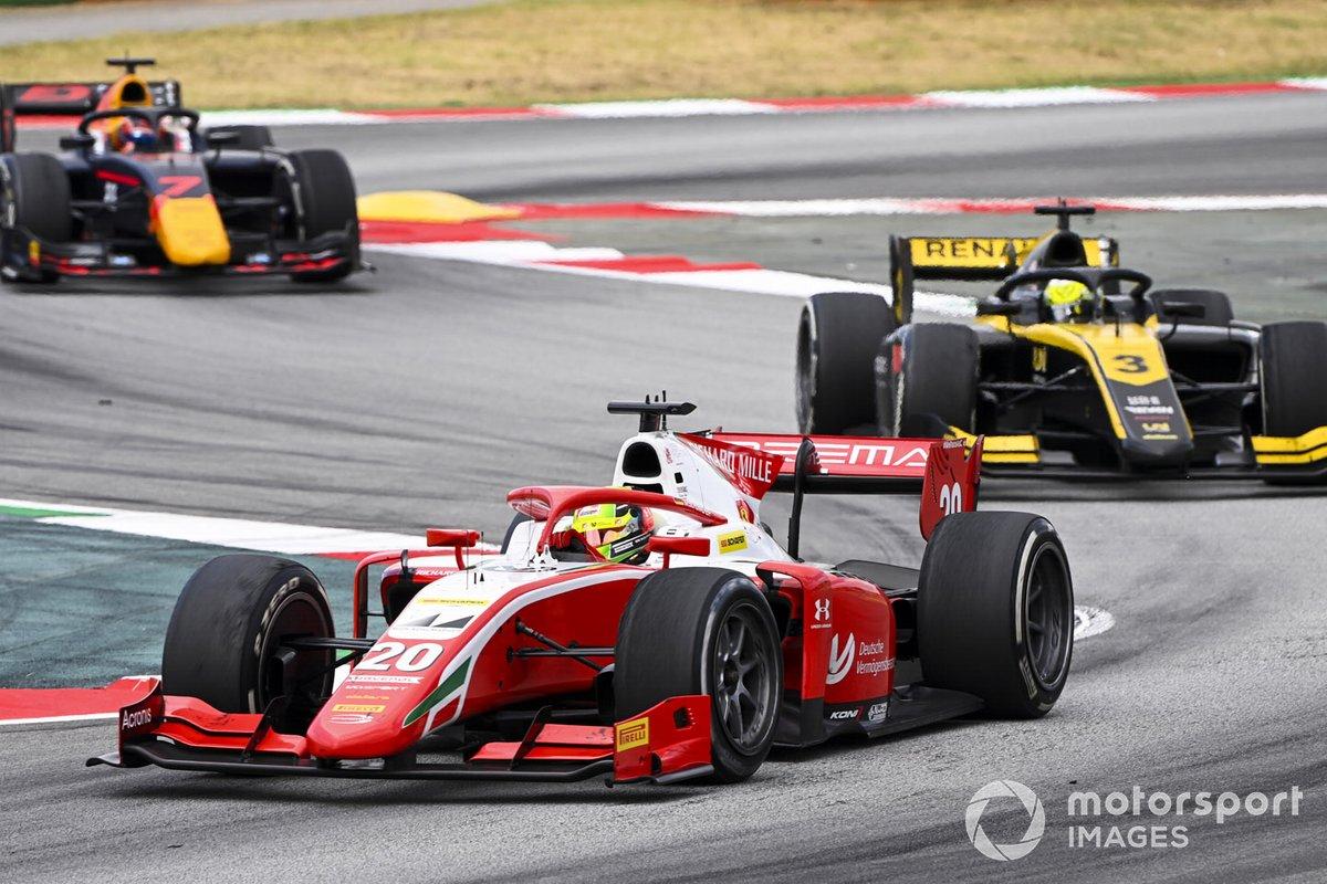 Mick Schumacher, Prema Racing, Guanyu Zhou, UNI-VIRTUOSI, Yuki Tsunoda, Carlin