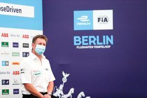 Allan McNish, Team Principal, Audi Sport Abt Schaeffler in the press conference
