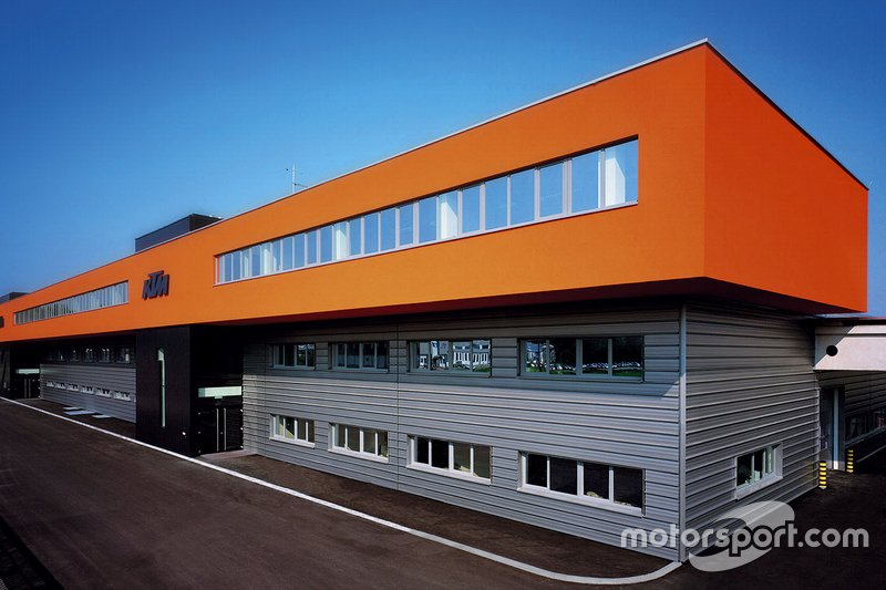 L'usine KTM de Mattighofen