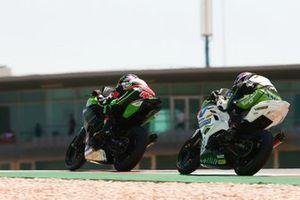 Ana Carrasco, Kawasaki Provec WorldSSP300, Tom Booth-Amos, RT Motorsports by SKM - Kawasaki