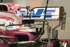 Racing Point RP20 achterkant