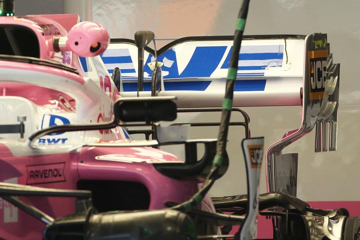 Racing Point RP20: Heckflügel