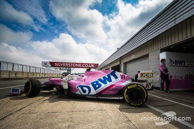 Racing Point Silverstone Día de Filmación Junio