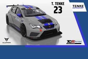 Tamás Tenke, Tenke Motorsport, CUPRA TCR